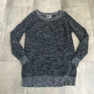 Free Press black knit cut out sweater!